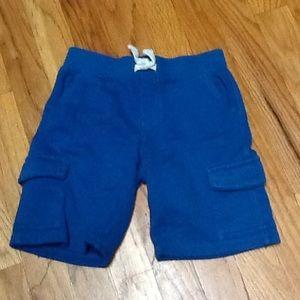 Boy's 5T Pull On Cargo Shorts, EUC